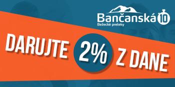 DARUJTE 2 % z vašich daní a pomôžete podporiť naše podujatia v roku 2017