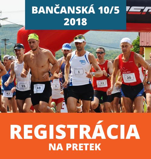 Bančanská 10 - registrácia