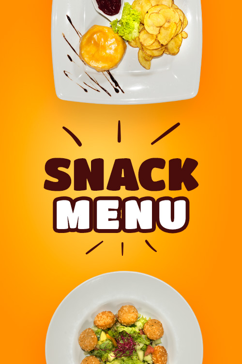 Snack menu Vranov - Hotel Patriot***