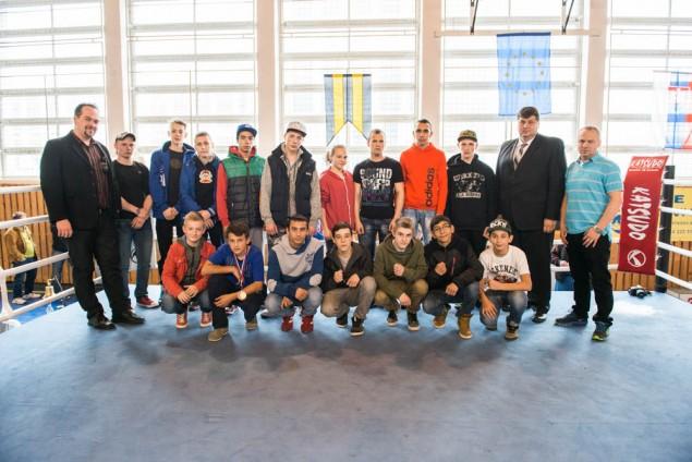 Majstrovstvá Slovenska v boxe žiakov a mladších dorastencov