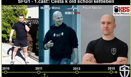 Cesta k old school kettlebell