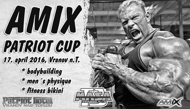 2016 AMIX Patriot Cup Vranov nad Topľou - PROPOZÍCIE