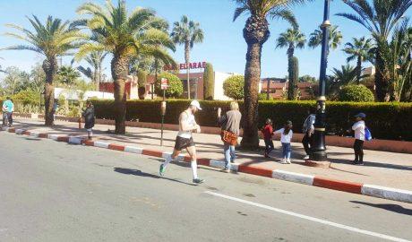 Rišo zvádol maratón v Marrakesh (Marocco)