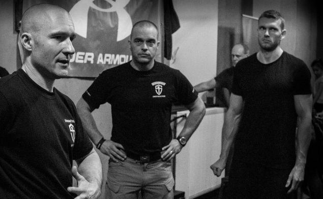 Mišo Lakatoš, SFG1 ako rozhodca na legendárnej Tactical Strength Challange v Prahe.