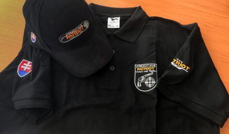 Strelecký klub PATRIOT - tričko, čiapka