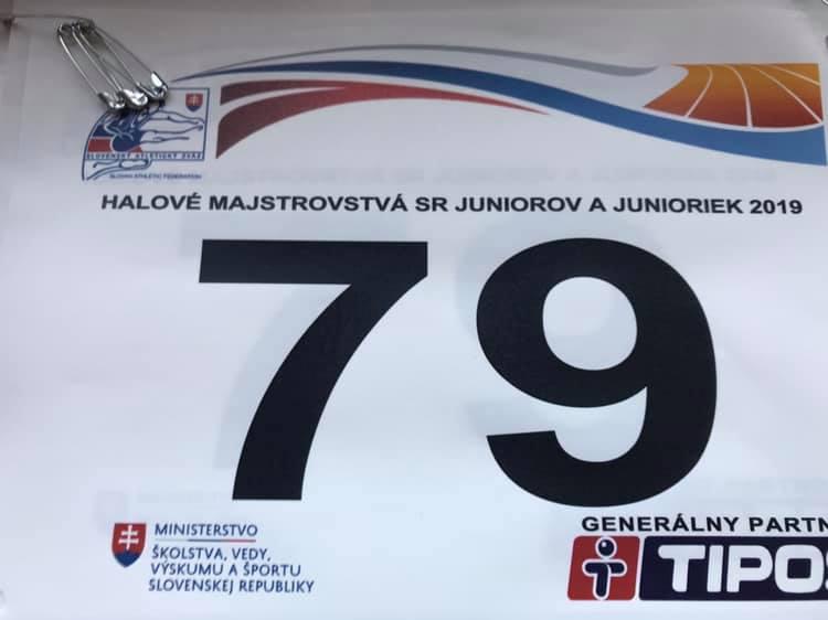 Majstrovstvá Slovenska junioriek v atletike v hale