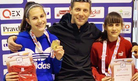 Majstrovstvá Slovenska junioriek v atletike v hale 2019
